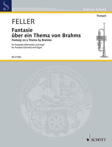 Fantaisie sur un thème de Brahms - Harald Feller - laflutedepan.com