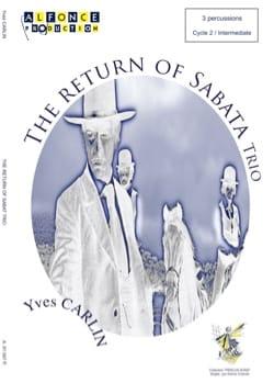 The return of Sabata trio - Yves Carlin - Partition - laflutedepan.com