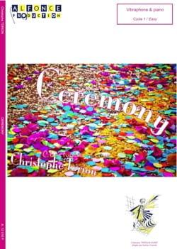 Ceremony - Christophe Torion - Partition - laflutedepan.com