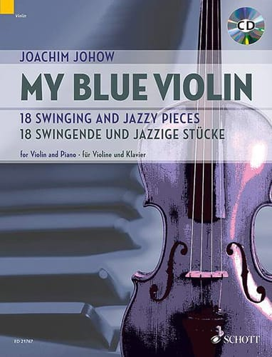 Joachim Johow - My Blue Violin - Partition - di-arezzo.com