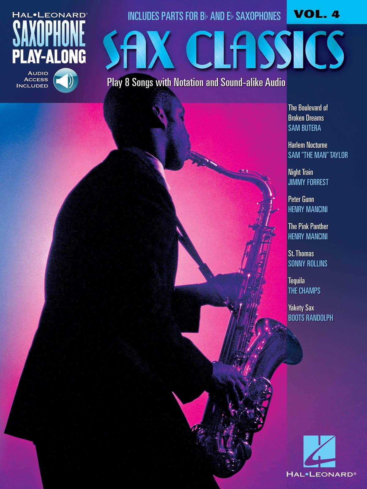 Saxophone Play-Along Volume 4 - Sax Classics - laflutedepan.com
