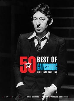 Serge Gainsbourg - 50 Best Of 5 Bonus Tracks - Gainsbourg - Partition - di-arezzo.co.uk