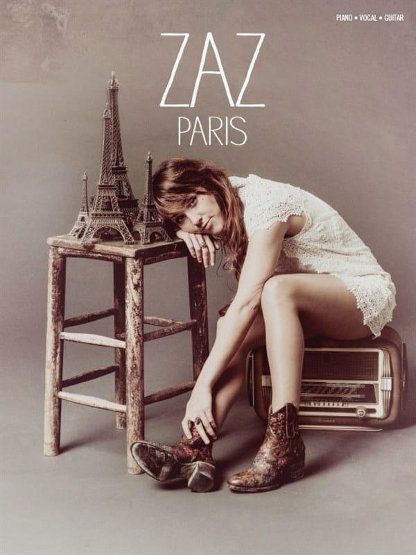 Paris - ZAZ - Partition - Chanson française - laflutedepan.com
