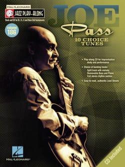 Joe Pass - Jazz Play-Along Volume 186 - Joe Pass - Partition - di-arezzo.co.uk