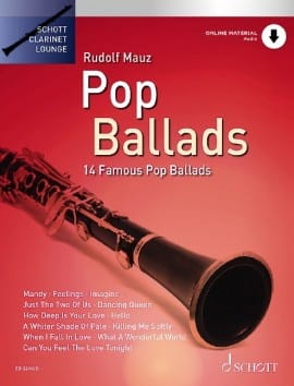 Pop Ballads - Partition - Clarinette - laflutedepan.com
