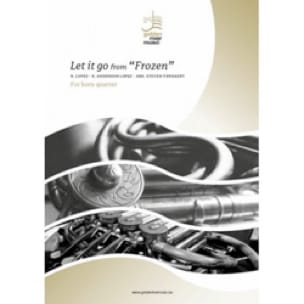 Let it go from Frozen - Quatuor de Cors - DISNEY - laflutedepan.com