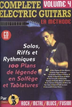 Jean-Jacques Rébillard - Complete Electric Guitars Volume 4 - Partition - di-arezzo.fr