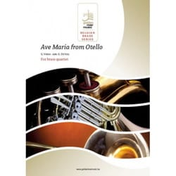 Ave Maria de Otello - VERDI - Partition - laflutedepan.com