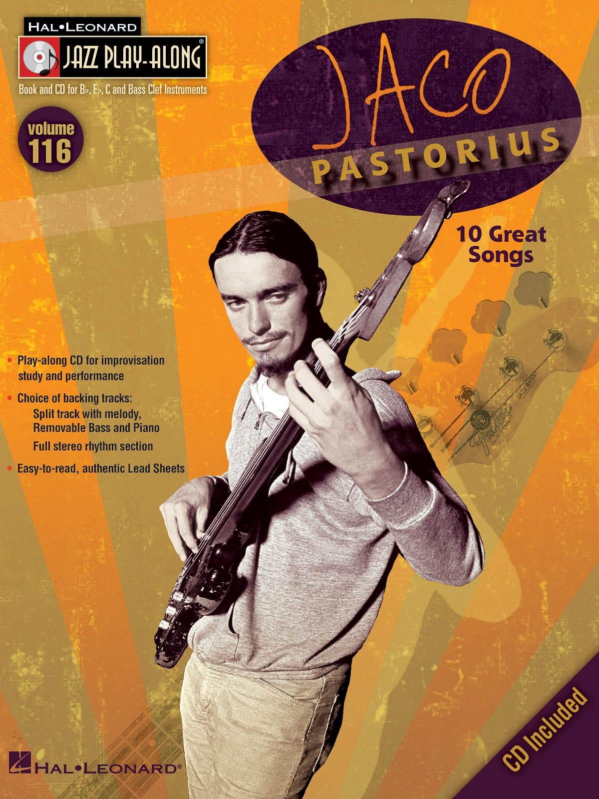 Jaco Pastorius - Jazz Play-Along Volume 116 - Jaco Pastorius - Partition - di-arezzo.co.uk