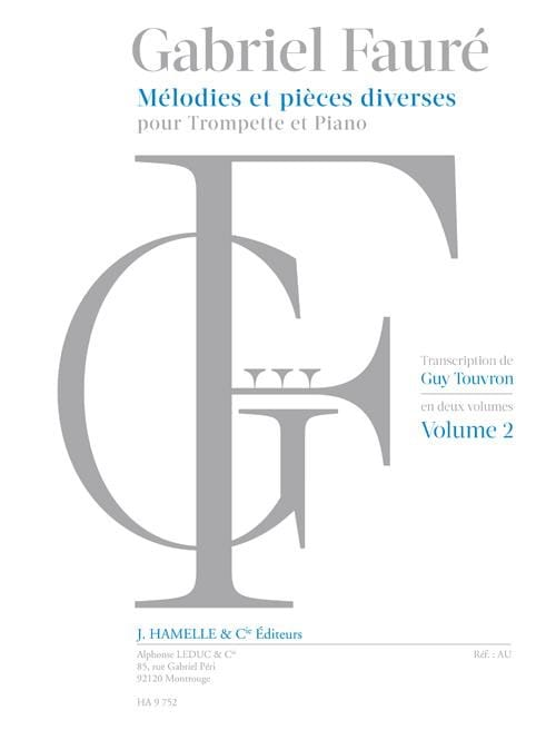 Mélodies et Pièces Diverses - Volume 2 - laflutedepan.com