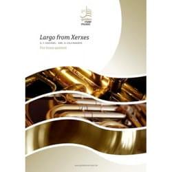 Largo from Xerxes - HAENDEL - Partition - laflutedepan.com