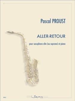 Aller-Retour - Pascal Proust - Partition - laflutedepan.com