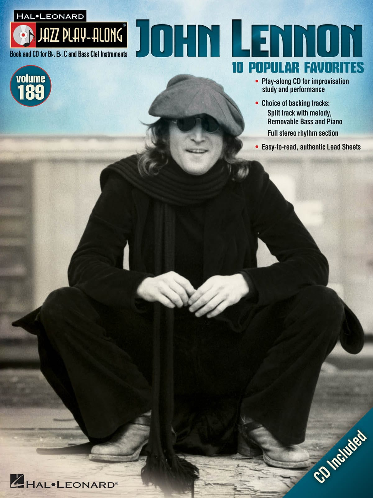 John Lennon - Jazz Play-Along Volume 189 - John Lennon - Partition - di-arezzo.co.uk