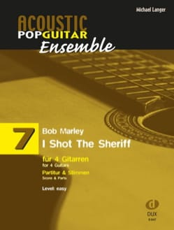 I Shot The Sheriff - Acoustic pop guitar ensemble N°7 - laflutedepan.com