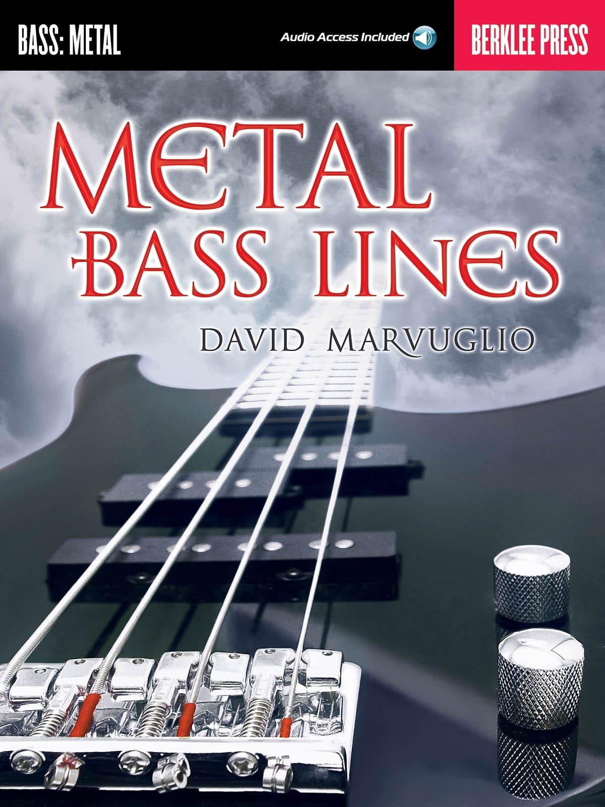 Metal Bass Lines - David Marvuglio - Partition - laflutedepan.com