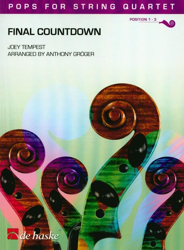 Final Countdown - Europe (Joey Tempest) - Partition - laflutedepan.com