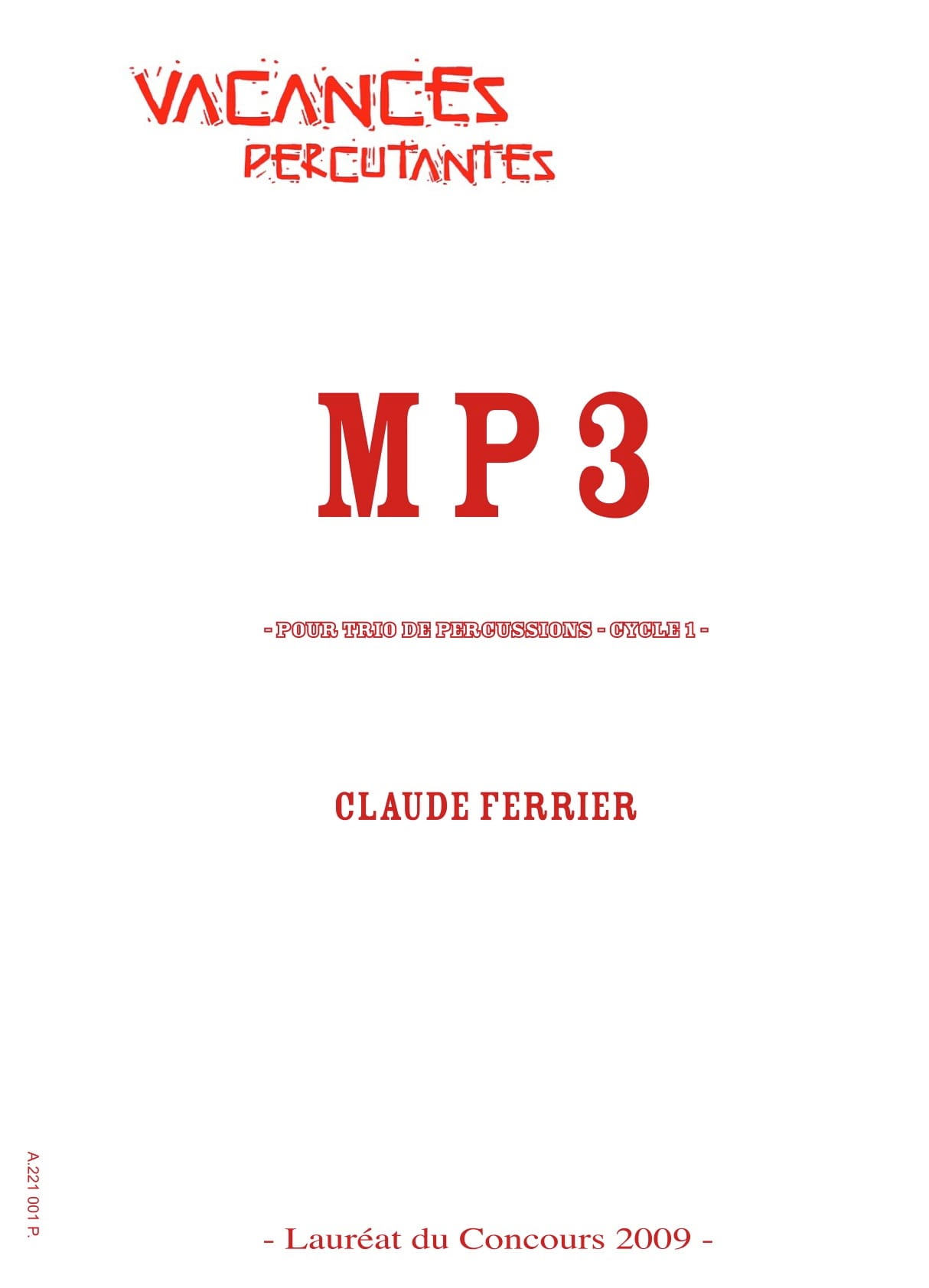 MP3 - Claude Ferrier - Partition - laflutedepan.com