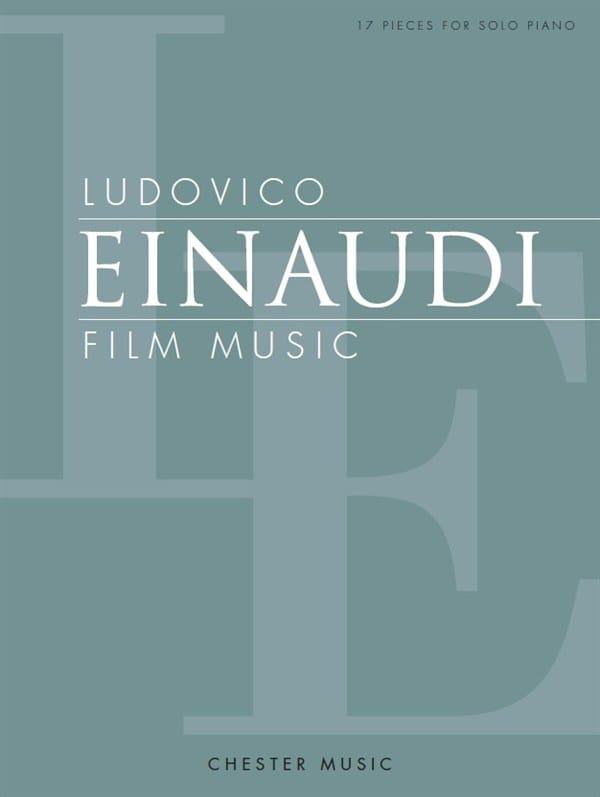 Ludovico Einaudi - Movie Music - Partition - di-arezzo.co.uk