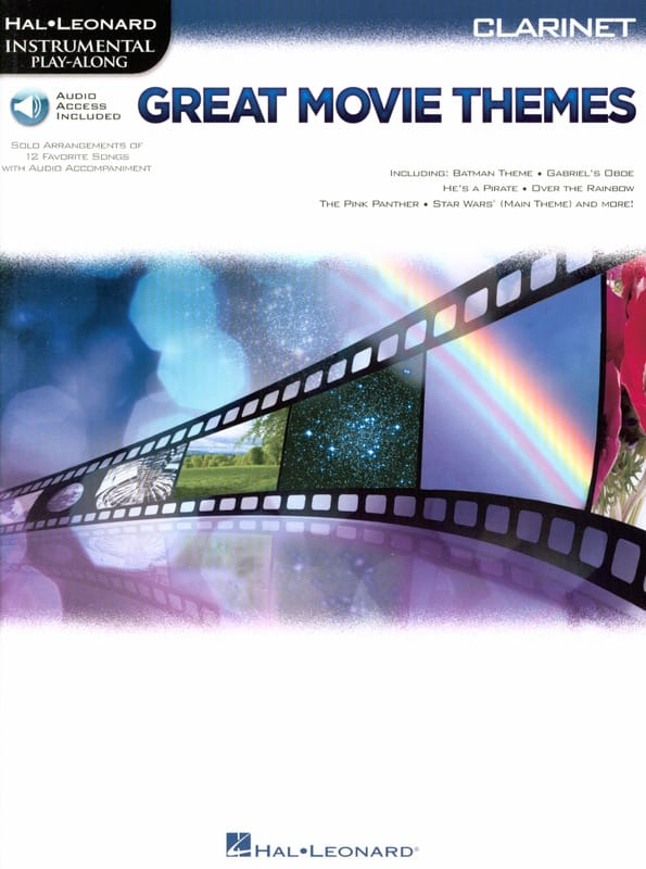 Great Movie Themes - Partition - Clarinette - laflutedepan.com