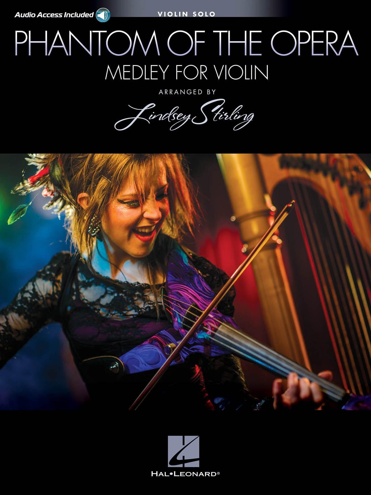 Lindsey Stirling - Le fantôme de l'opéra - Medley pour Violon Seul - Partition - di-arezzo.fr