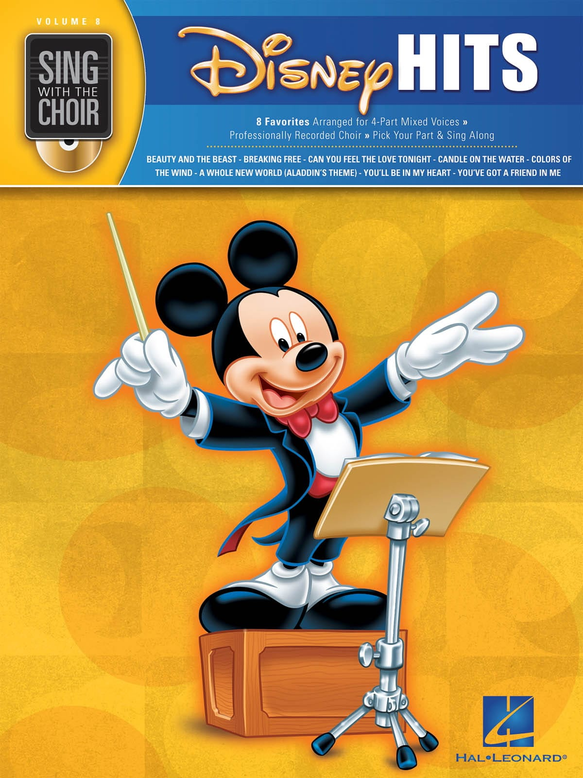 DISNEY - Sing With The Choir Volume 8 - Disney Hits - Partition - di-arezzo.co.uk