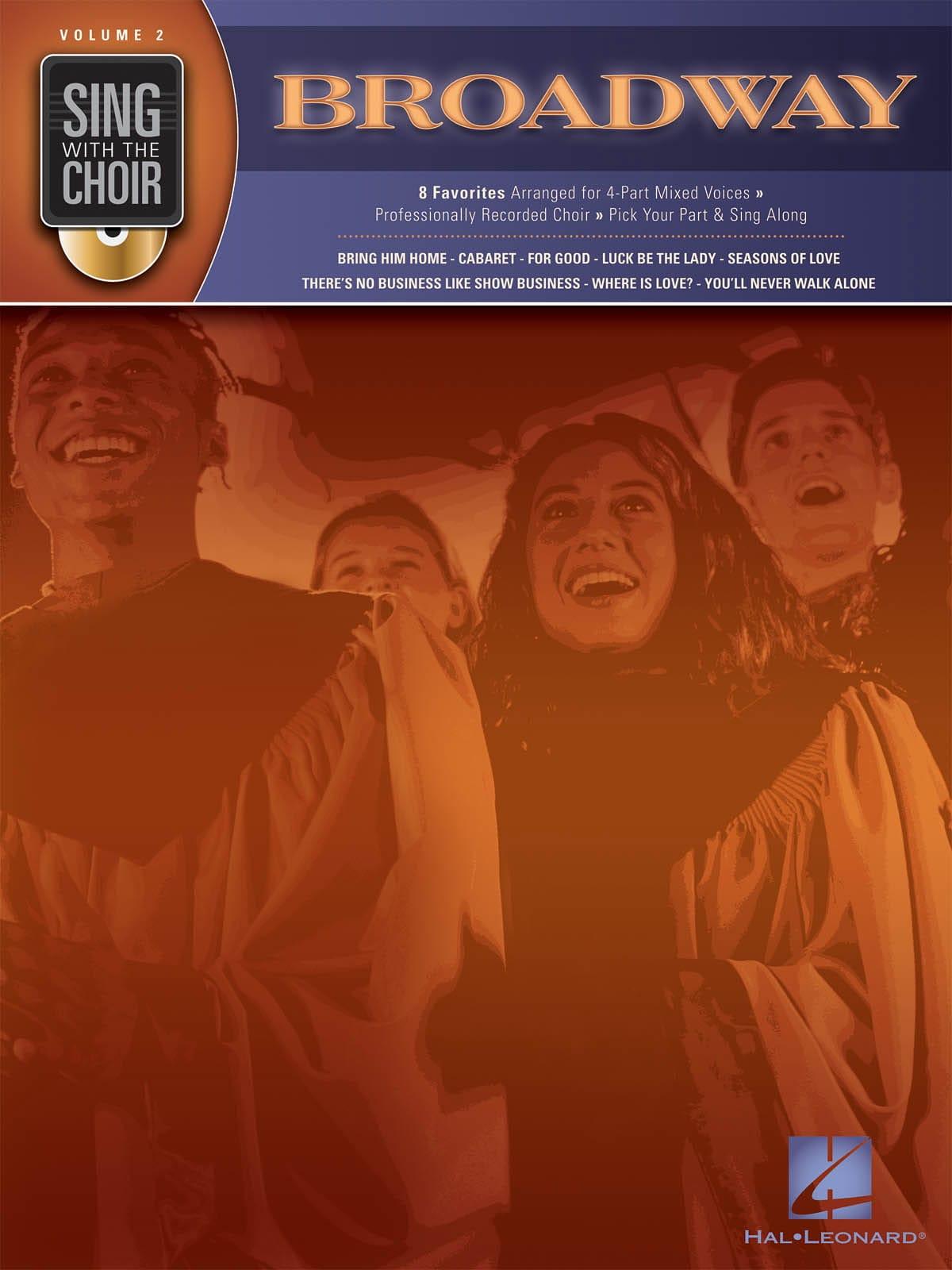 Sing With The Choir Volume 2 - Broadway - laflutedepan.com