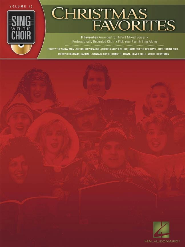 Sing With the Choir Volume 10 - Christmas Favorites - laflutedepan.com