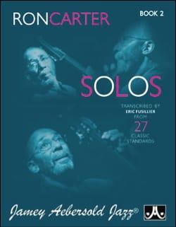 Ron Carter - Ron Carter Solos - Volume 2 - Partition - di-arezzo.co.uk