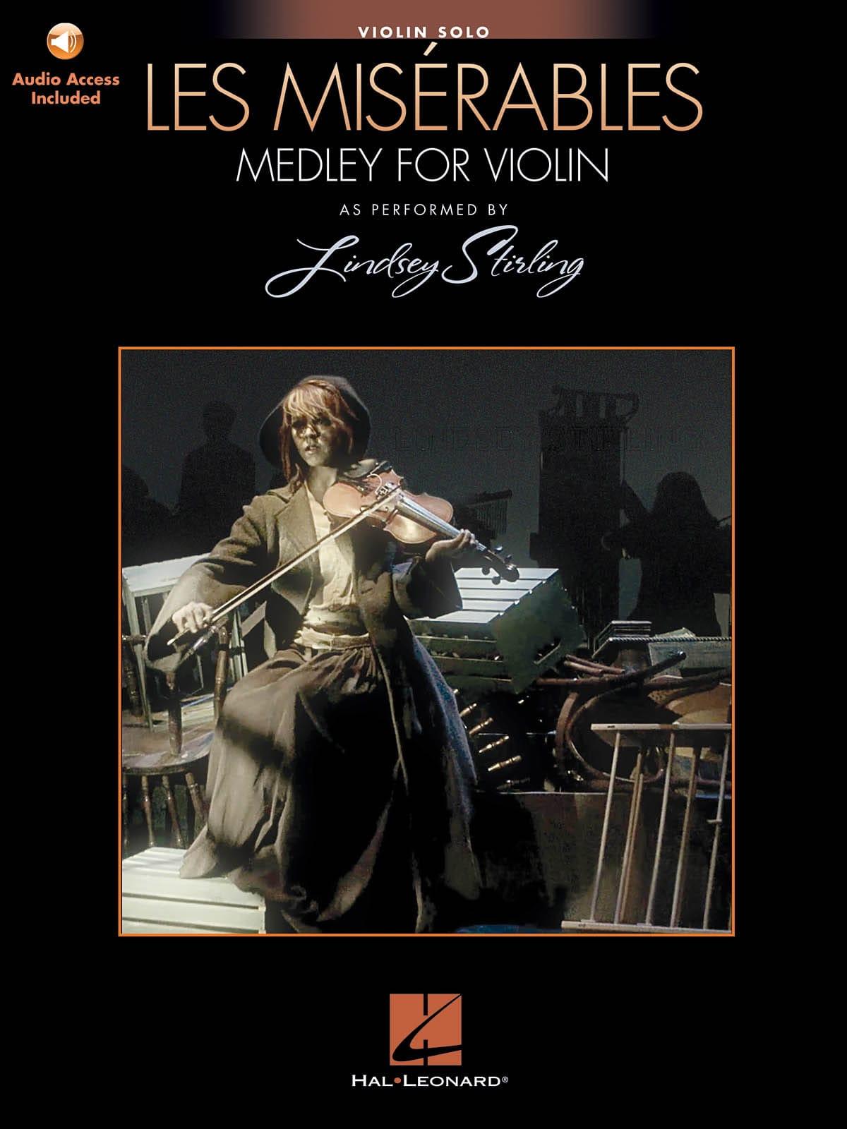 Lindsey Stirling - Les Misérables Medley pour Violon Seul - Partition - di-arezzo.fr