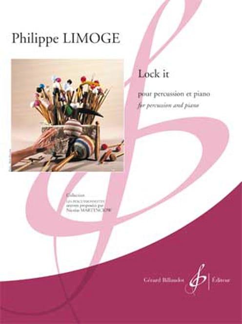 Lock It - Philippe Limoge - Partition - laflutedepan.com
