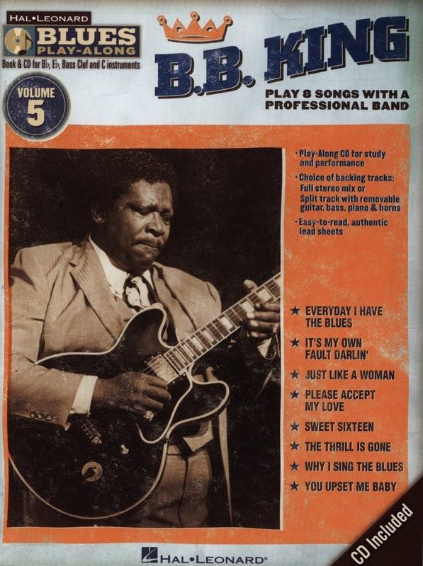 B.B. king - Blues Play-Along Volume 5 - BB King - Partition - di-arezzo.co.uk
