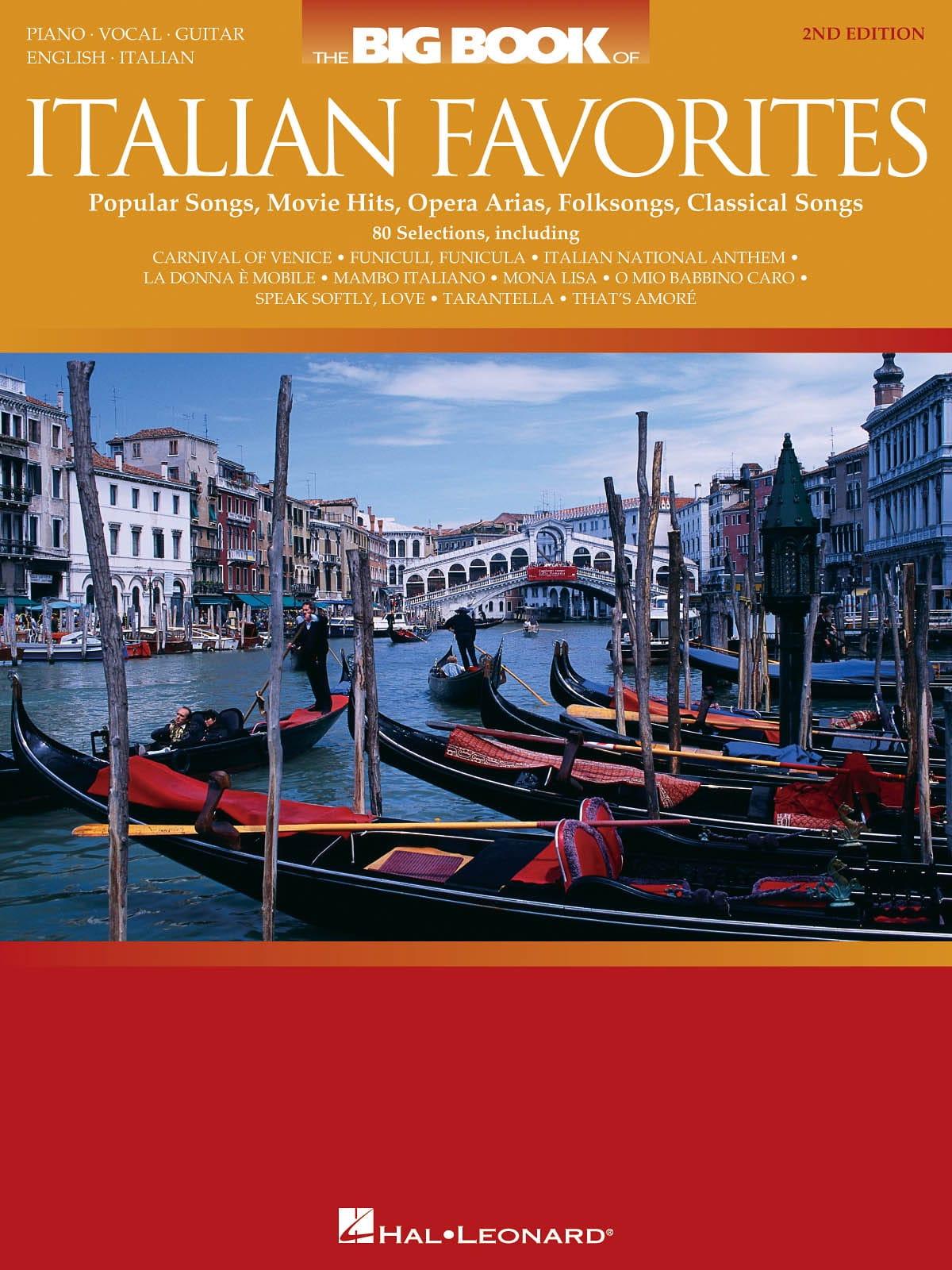 The Big Book of Italian Favorites - Partition - laflutedepan.com