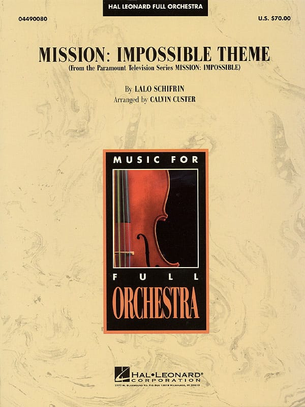 Mission Impossible Theme - Lalo Schifrin - laflutedepan.com