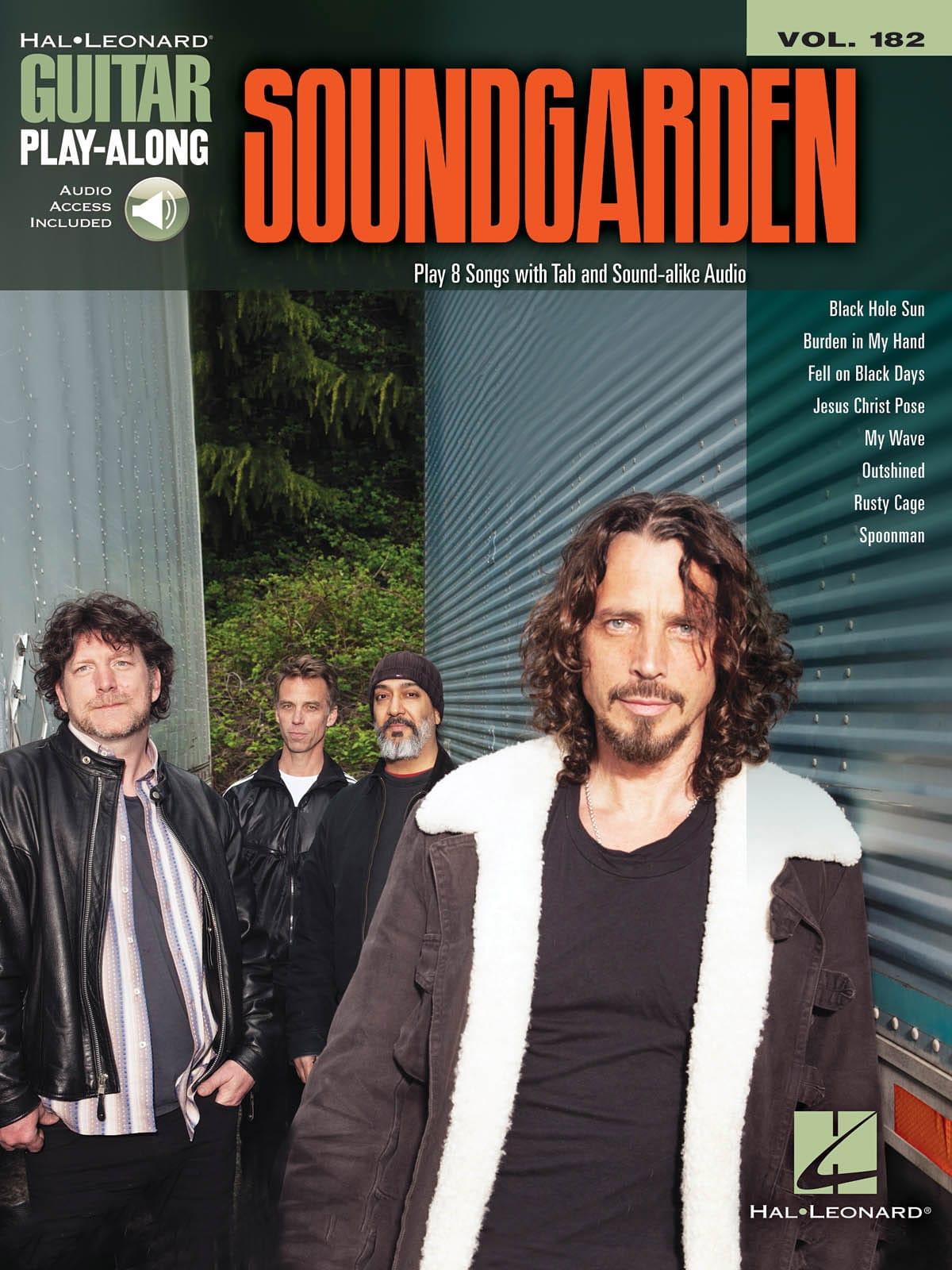 Soundgarden - Guitar Play-Along Volume 182 - Soundgarden - Partition - di-arezzo.co.uk