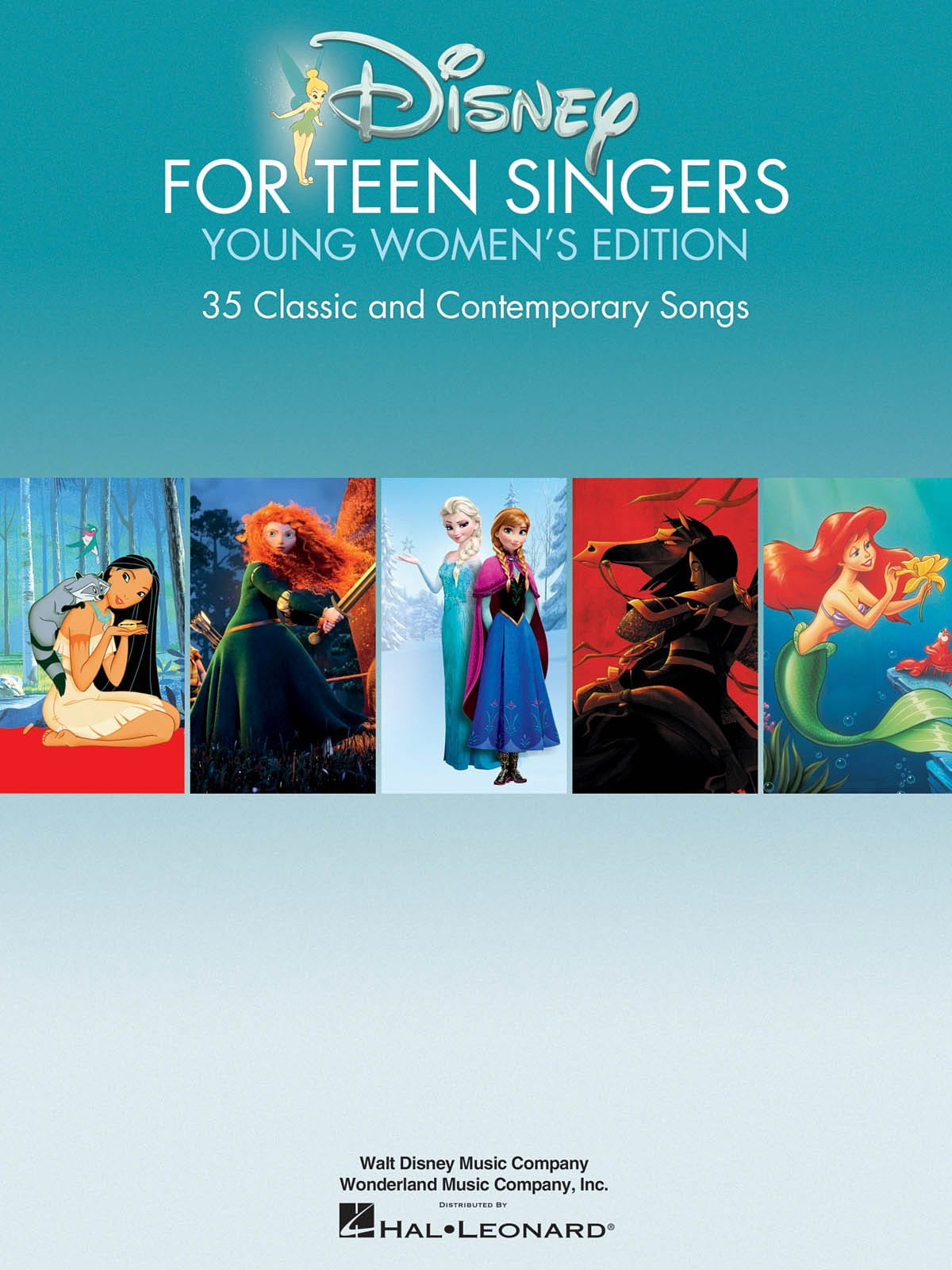 DISNEY - Disney For Teen Singers - Young Women's Edition - Partition - di-arezzo.co.uk