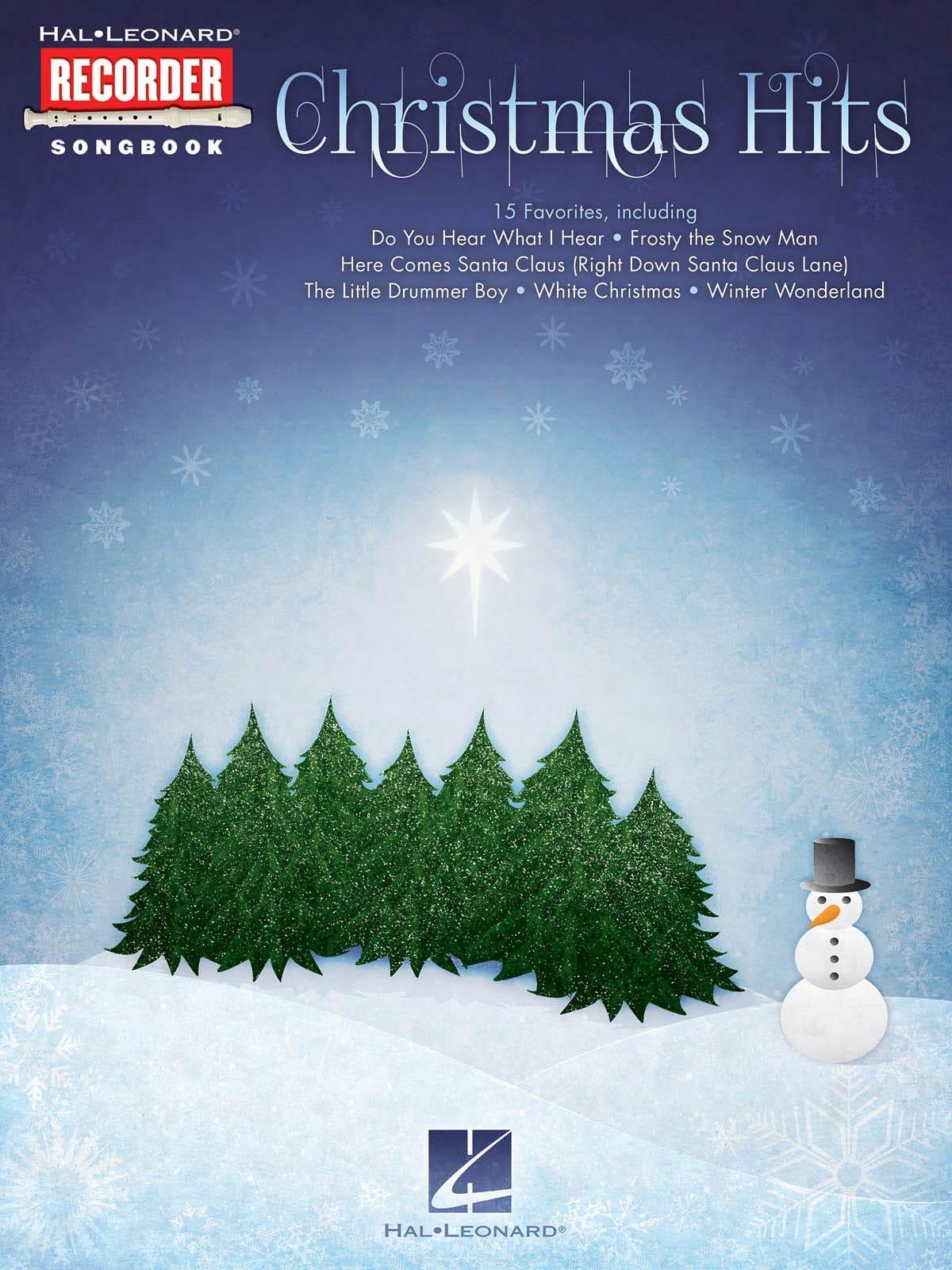 Christmas Hits for Recorder - Noël - Partition - laflutedepan.com