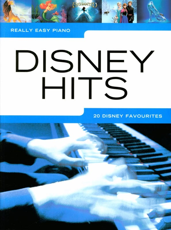 DISNEY - Really Easy Piano - Disney Hits - Partition - di-arezzo.com