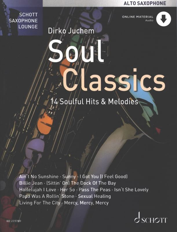 Soul Classics - Partition - Saxophone - laflutedepan.com