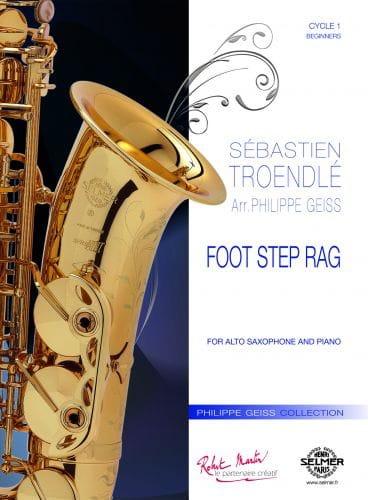 Foot Step Rag - Sébastien Troendlé - Partition - laflutedepan.com