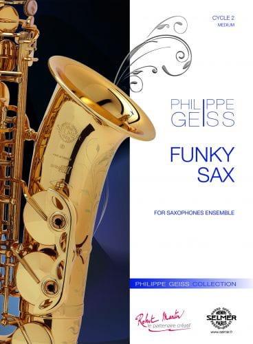 Philippe Geiss - Funky Sax - Partition - di-arezzo.com