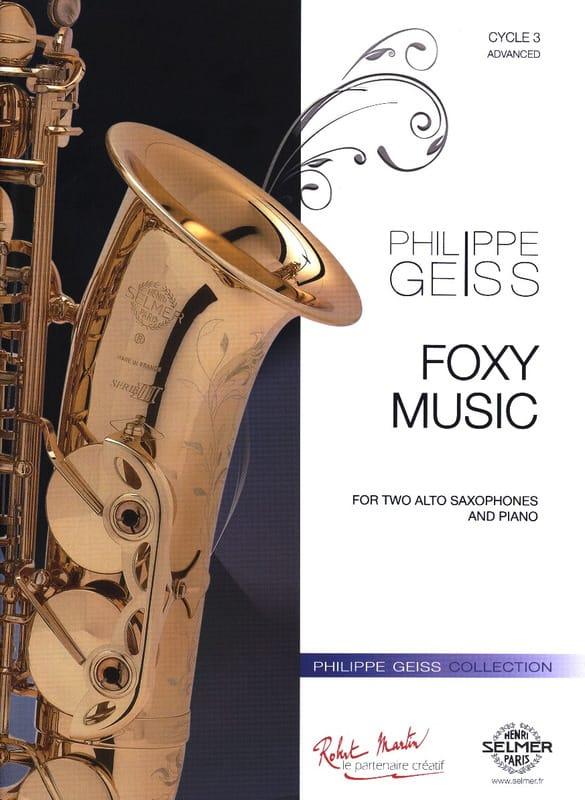 Philippe Geiss - Foxy Music - Partition - di-arezzo.com