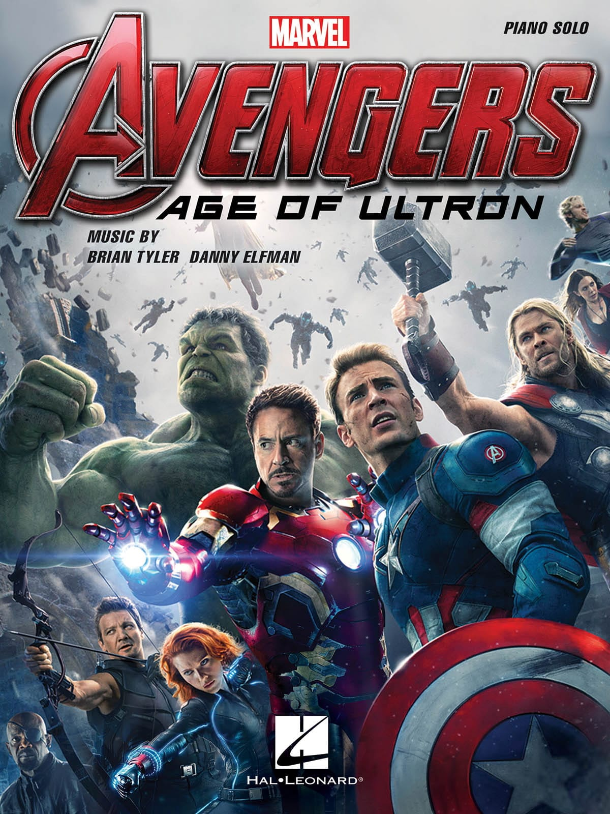 Marvel Studios - Avengers, The Era of Ultron - Movie Music - Partition - di-arezzo.co.uk