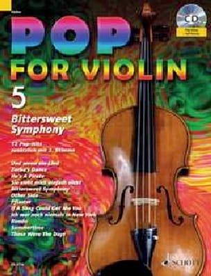 Pop for Violin Volume 5 - Bitter Sweet Symphony - laflutedepan.com