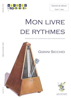 Gianni Sicchio - My first book of rhythms - Partition - di-arezzo.co.uk