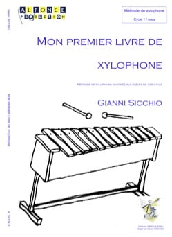 Gianni Sicchio - My First Xylophone Book - Partition - di-arezzo.co.uk