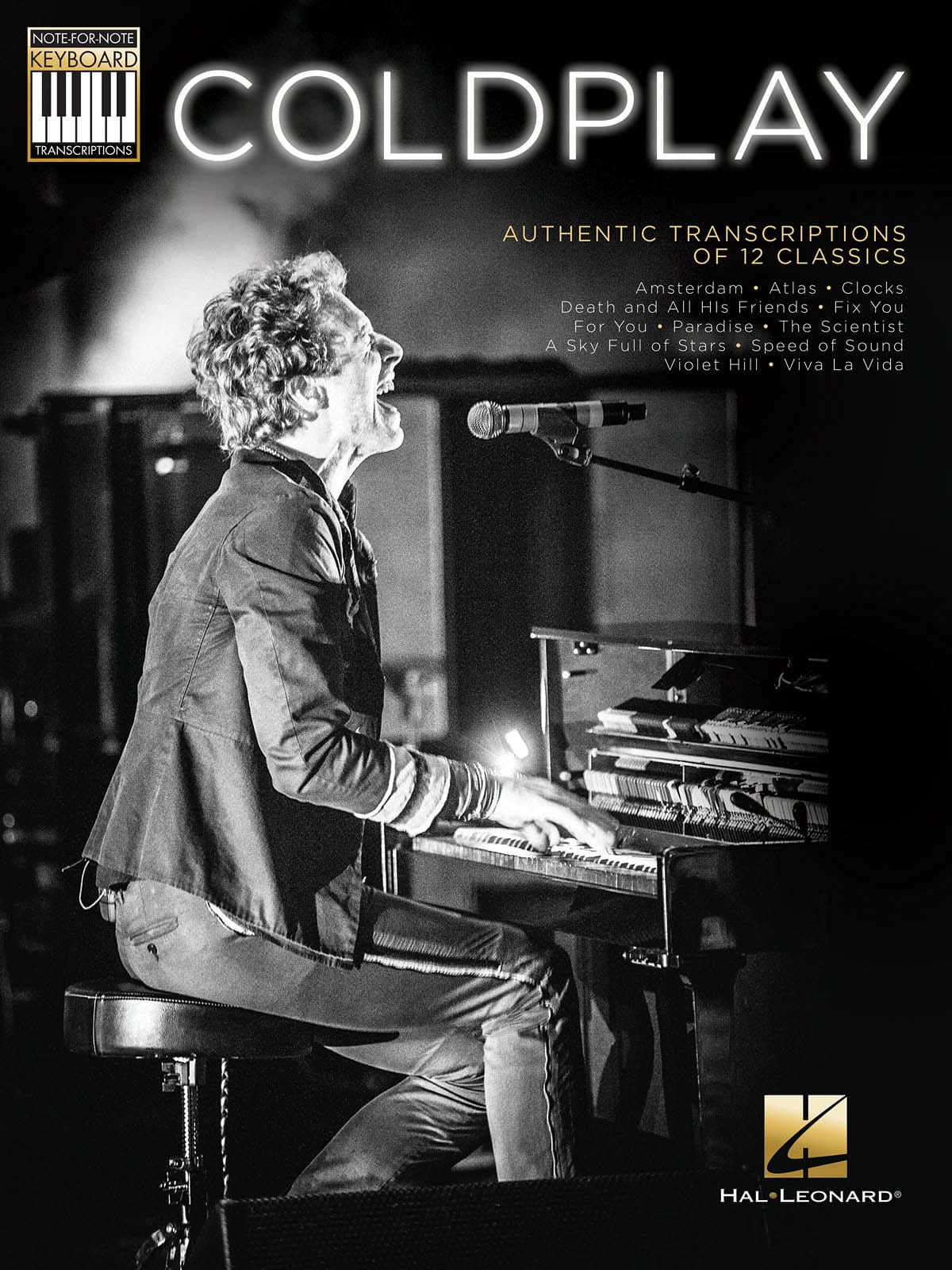 Note-for-Note Keyboard Transcriptions - Coldplay - laflutedepan.com