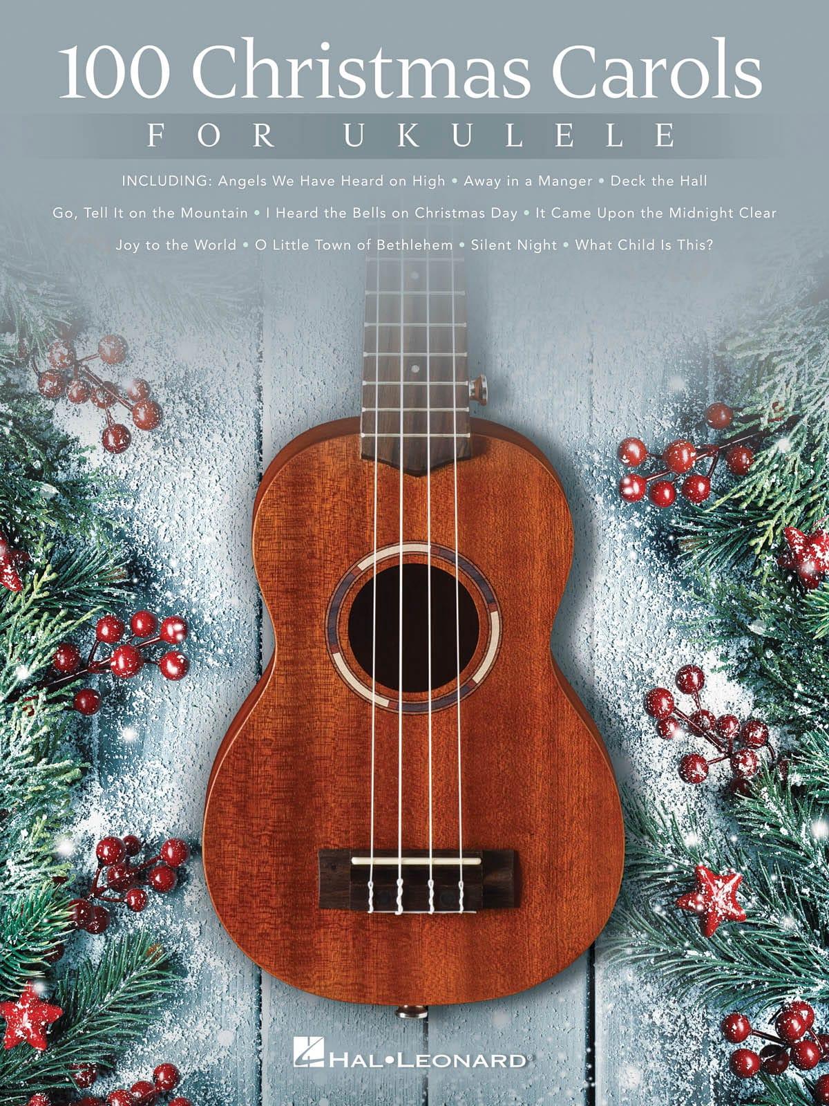 Noël - 100 Christmas Carols for Ukulele - Partition - di-arezzo.co.uk