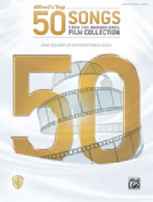 Alfred's Top 50 Songs from the Warner Bros. Film Collection - laflutedepan.com