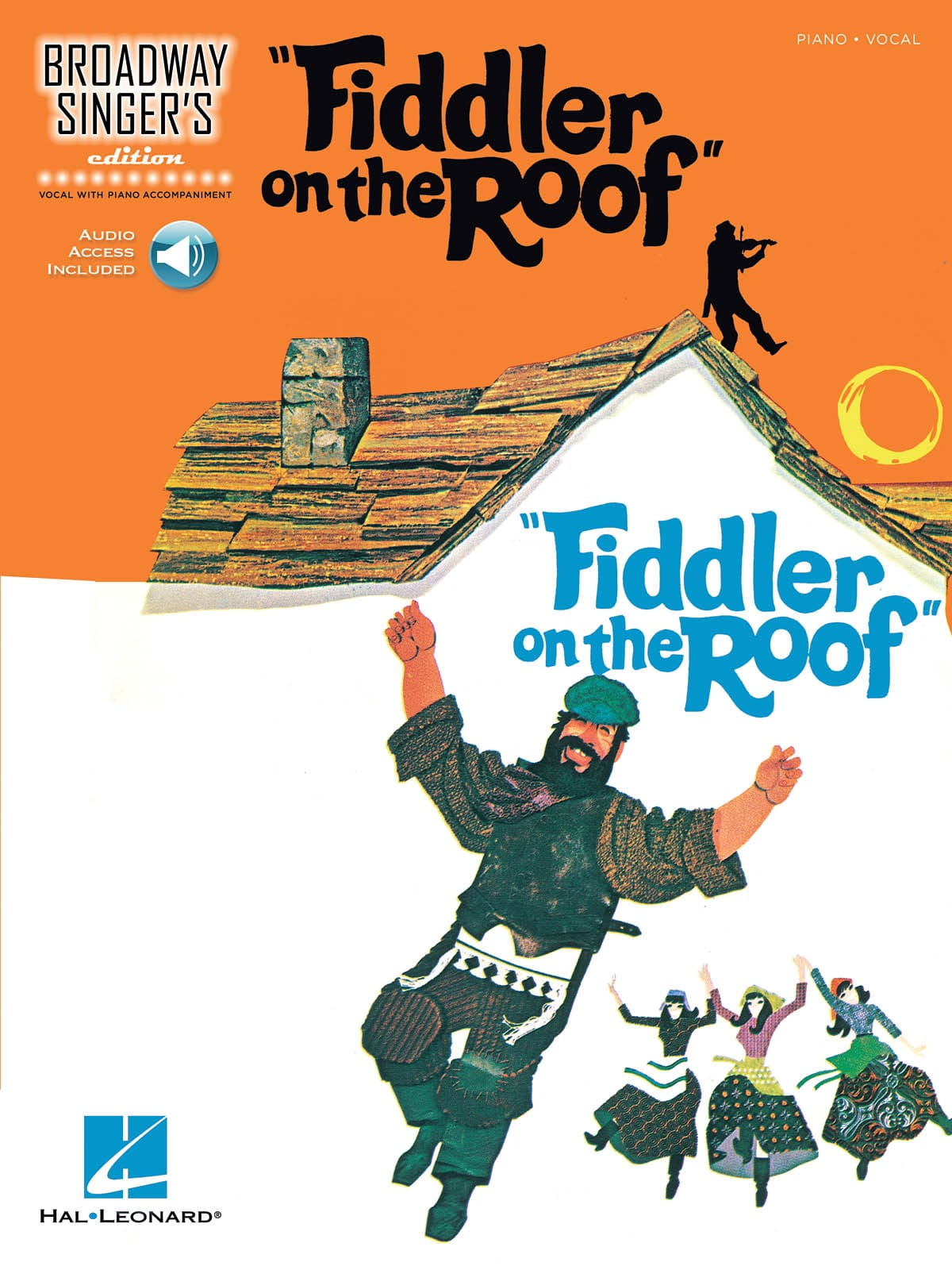 Broadway Singer's Edition - Fiddler On The Roof - laflutedepan.com