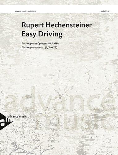 Easy Driving - Rupert Hechensteiner - Partition - laflutedepan.com